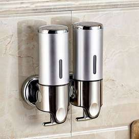 Double Head Soap Wall Dispenser – 1000ml White