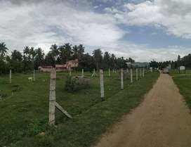 DTCP Approved plots Chennai Higway near Meetupatti tool gate
