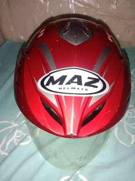 Dijual aja deh,helm merk Maz size M