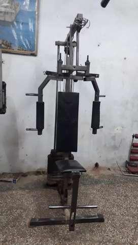 Good condition chest machine, multi gym ,bench press