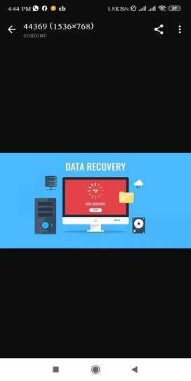 Android & LAPTOPS DATA RECOVERY