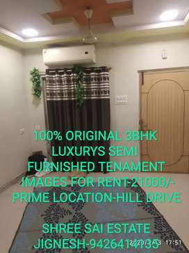 3BHK BUNGLOW FOR RENT-HILL DRIVE
