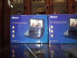 Memorex 7  New Widescreen DVD Player 2 Pieces and thier Cds