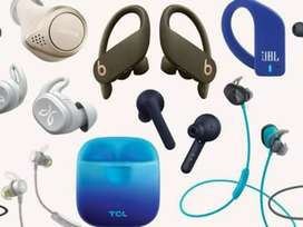Earphone service [bluetooth and wired] and bluetooth speaker