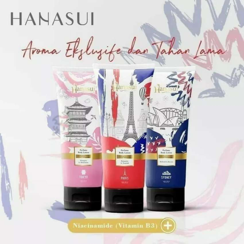 Lotion parfume hanasui readyy 0