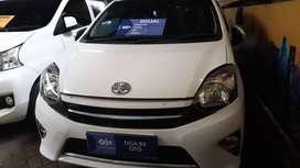 Toyota Agya G Manual Tahun 2016 harga 110 jt DP 9 Juta