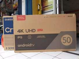 MURAH HARGA PABRIK TV TCL 50A10 4K 50 INCH INC IN GARANSI Bisa ke toko