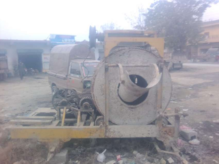 Concrete Mixer and Block Making Machines for sale 0