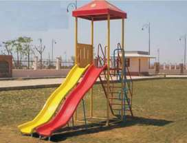 Fiberglass  slide 10ft 2 in 1 with canopy