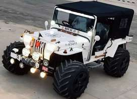 Modified Hunter Jeep Home Delivery