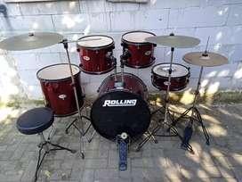 Drum set Rolling JB