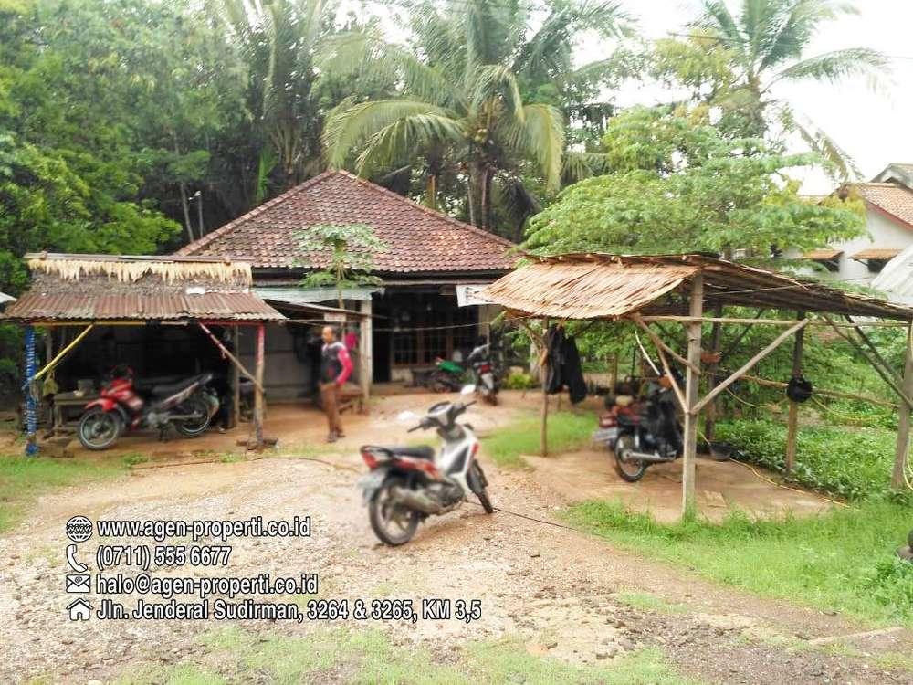 dijual tanah 2875 m2 desa rejodadi tepi jln palembang betung km 26