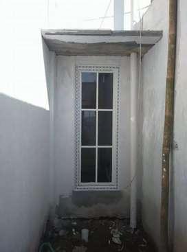 Pintu aluminium kusen aluminium pintu kaca jendela kaca boven