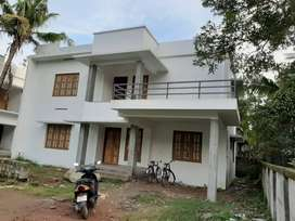 5 cent plot with 2000 sq.ft 5BHK house in kollam vallikeezhu
