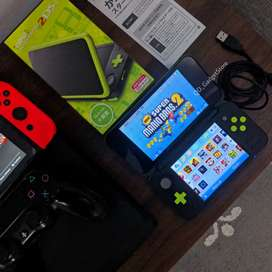 Nintendo 2DS LL XL C-FW 32GB Full Game Murah aja