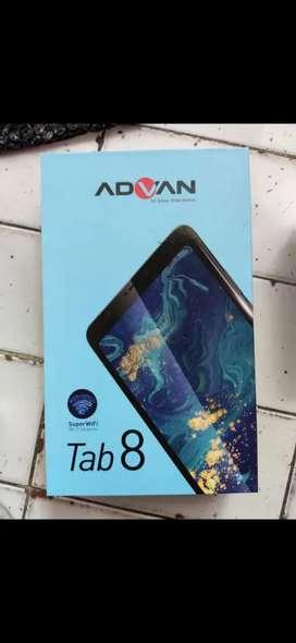 Tablet Advan tab 8 belajar ram 3gb 4G LTE