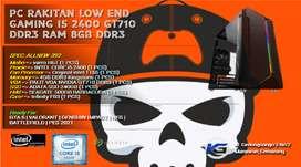 PC KOSTUM EDITING RINGAN OFFICE I5 2400 | GT710 | 8GB DDR3 | 240GB SSD