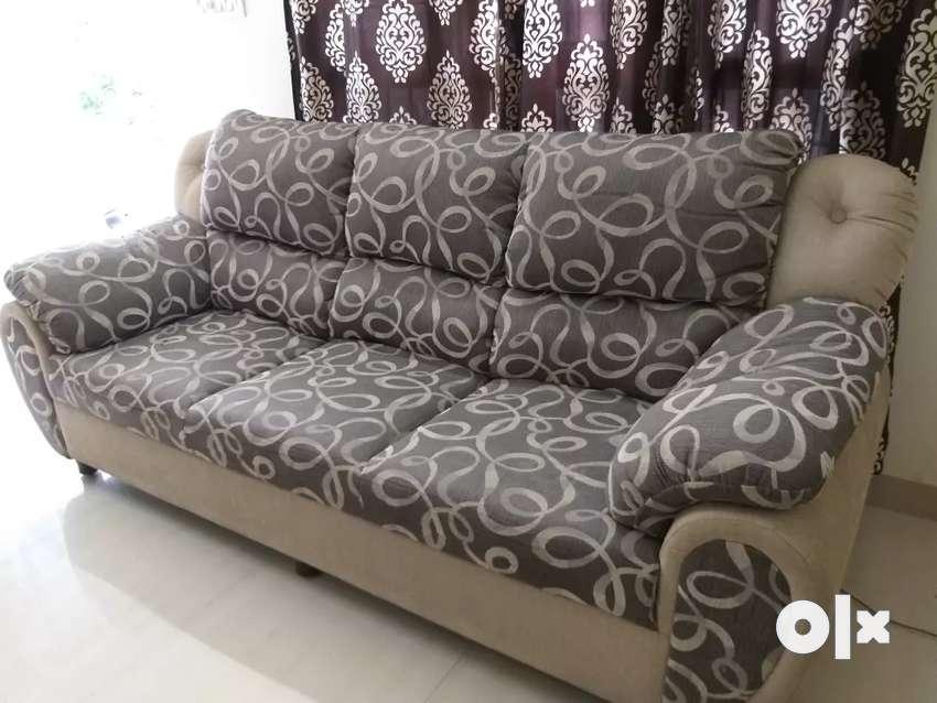 Gently Used Sofa Set 0