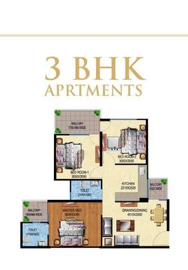 # 3 bhk flat available in new gurgaon with 95 modern amenities