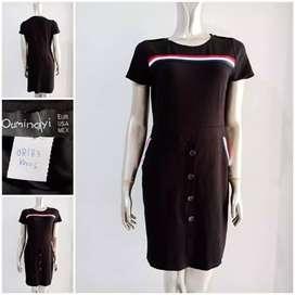 Dress kaos wanita