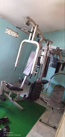 homegym 2 sisi + 4 alat fitness second