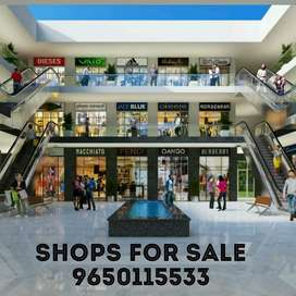 Grond floor shop @21lac ,ready for possession shop