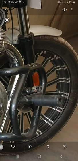 Alloy Wheel (tubeless  Interceptor 650 Gt Continental, thunderbird