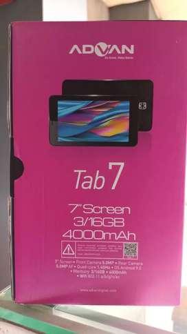 Tablet Advan tab 7 ram 3gb 4G
