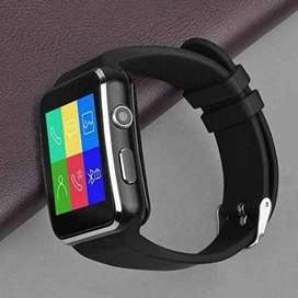 SMARTWATCH X6 - Smartwatch X6 Jam Tangan HP Android Support SIMCARD