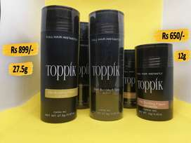 Toppik Hair Fiber 12g and 27.5g, Sevich, Caboki 25g,Toppik Applicator