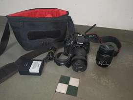 Fully Condition My Canon 700D Urgent Sell With 2 Lens
