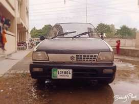 Suzuki Mehran VXR model 1994 registered in lahore