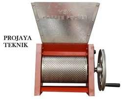 Mesin Kupas Biji Kopi Pulper Coffe Manual Kap 600kg Jam Baru Aceh