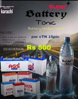 Battery Distiled Water