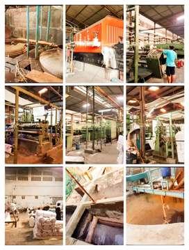 Pabrik Tekstile aktif diSoloraya L.7602m2 hrg 45M