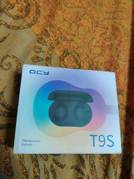 Qcy T9S Wireless Buds Original With QR code Bluetooth Headphones