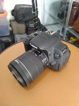Canon 700D mulus seperti baru
