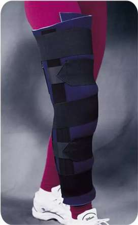 Leg immobilizer less used in mint condition