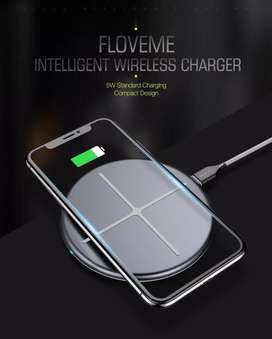 Floveme Original Wireless Charger (100% NEW) + USB C cable