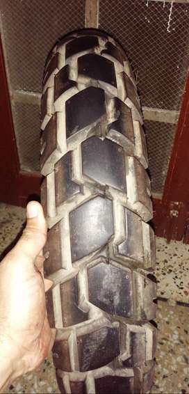 Tire  and exhaust