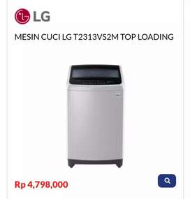 Kredit MESIN CUCI LG T2313VS2M TOP LOADING