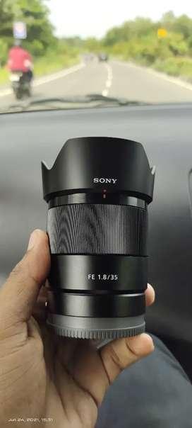 Sony 35mm full frame lens