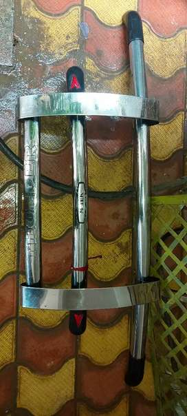 Bolero Steel front bumper