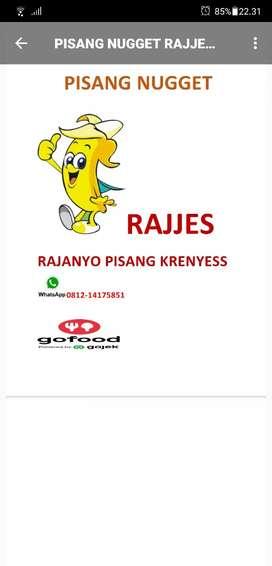 Dibutuhkan karyawan pisang nugget