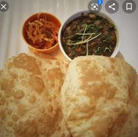 West bangol state chole bhature and roti nan karigar