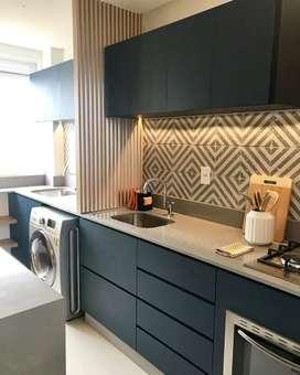 Custom furniture, kitchenset, backdrop, lemari, kamarset dll