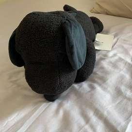 Uniqlo x Kaws x Peanuts Toy Black Large Boneka (Limited Edition)