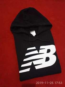 Hoodie New Balance Black Original