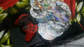 Playstation 2 with +1controller +20 cds free.