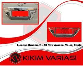 kikim variasi paris _ license ornament chrome : all new AVANZA :